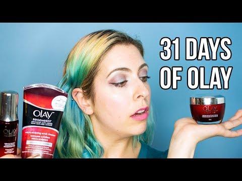 31 DAYS OF OLAY   Olay Regenerist Trio Review