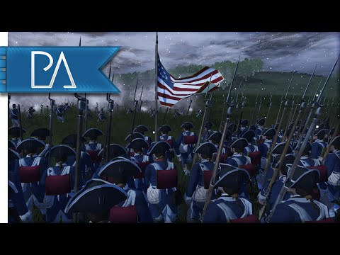 OUTNUMBERED LINE BATTLE - Regiments of American Revolution Mod Gameplay