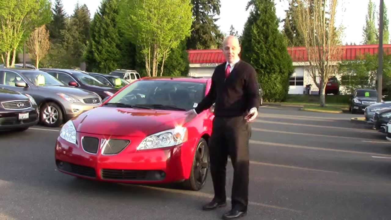 2006 Pontiac G6 Gtp Review A Quick Look At The Pontiac Gtp Youtube