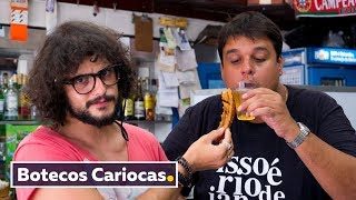 AS COMIDAS DOS BOTECOS CARIOCAS | VIAGEM RIO DE JANEIRO | Mohamad Hindi
