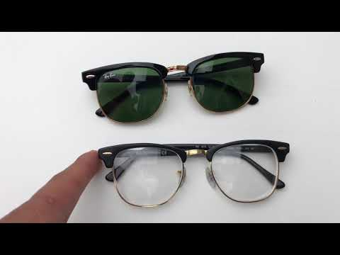 Fake Vs Real Rayban Clubmaster - How To Know If It's FAKE!