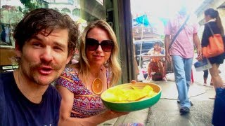 What I ate (& did) today in Thailand,follow us thru the city streets!