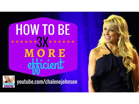 How To Be More Efficient and Productive at Home, at Work and in Life