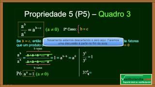 Matemática Zero 2.0 - Aula 14 - Potenciação ou Exponenciação - (parte 1 de 2)