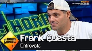 """Frank Cuesta en El Hormiguero 3.0: """"Me mordió una serpiente el domingo"""""""