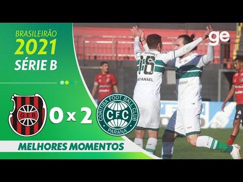 BRASIL DE PELOTAS 0 x 2 CORITIBA| MELHORES MOMENTOS | 17ª RODADA BRASILEIRÃO SÉRIE B 2021 | ge.globo