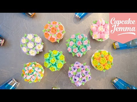 How to Use Russian Piping Nozzles | Cupcake Jemma