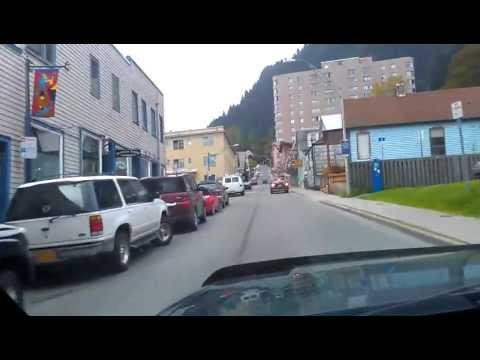 Drive Alaska: Downtown Juneau, Up&Downhill, Summer 2012
