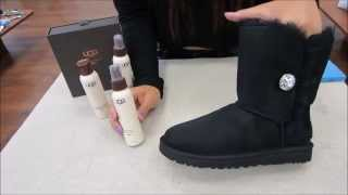 Part 2: How to Protect UGG Australia Boots with Sheepskin Protector (Stain & Water Repellent)