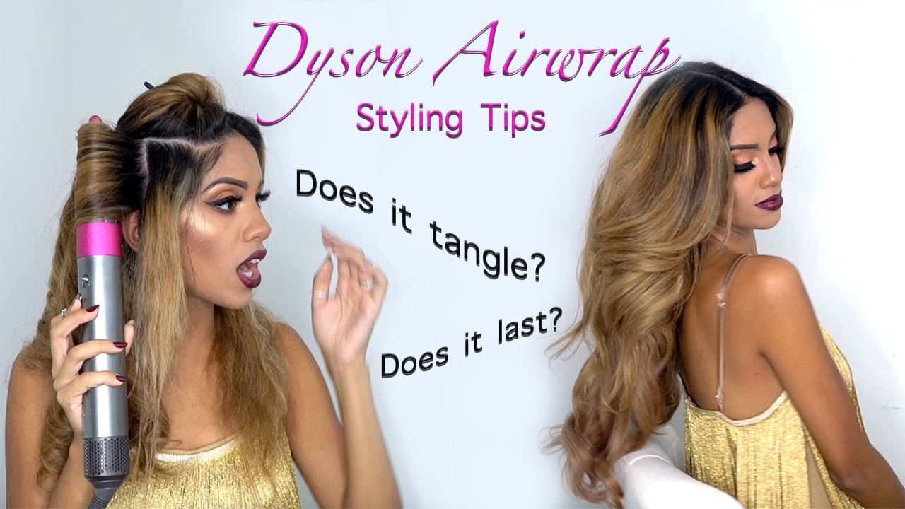Dyson Airwrap Best Styling Tips Curling Hair Extensions Hair Tutorial Ariba Pervaiz Youtube
