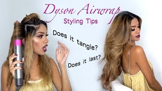 Dyson Airwrap- Best Styling Tips and Curling Hair Extensions | Tutorial
