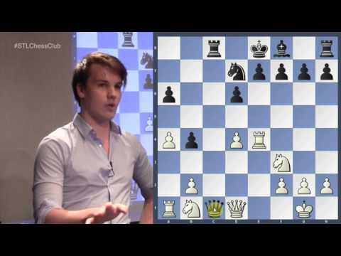 RVK vs. Wojtaszek, 2016 | Chess in the 21st Century - GM Robin van Kampen