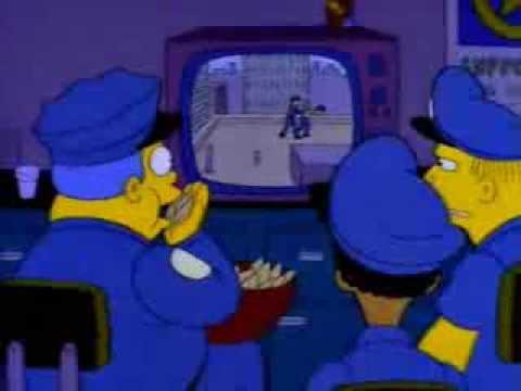 The Simpsons - COPS: In Springfield (Bad Cops)
