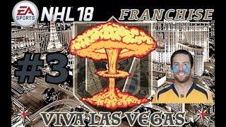 "NHL 18: Vegas Golden Knights Franchise #3 ""REBUILD"""