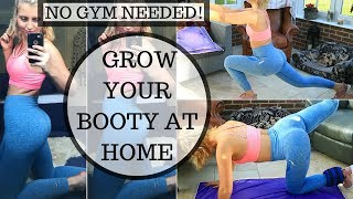 HOW TO BUILD YOUR GLUTES AT HOME || BOOTY WORKOUT