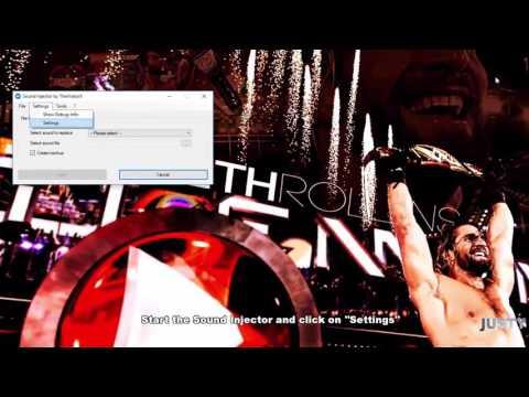 WWE2K16 PC | How to add Custom Themes