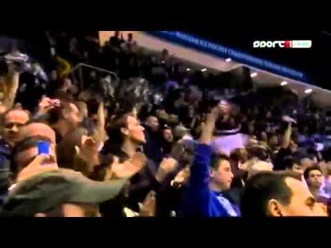 Miroslav Satan score a goal, Slovan...