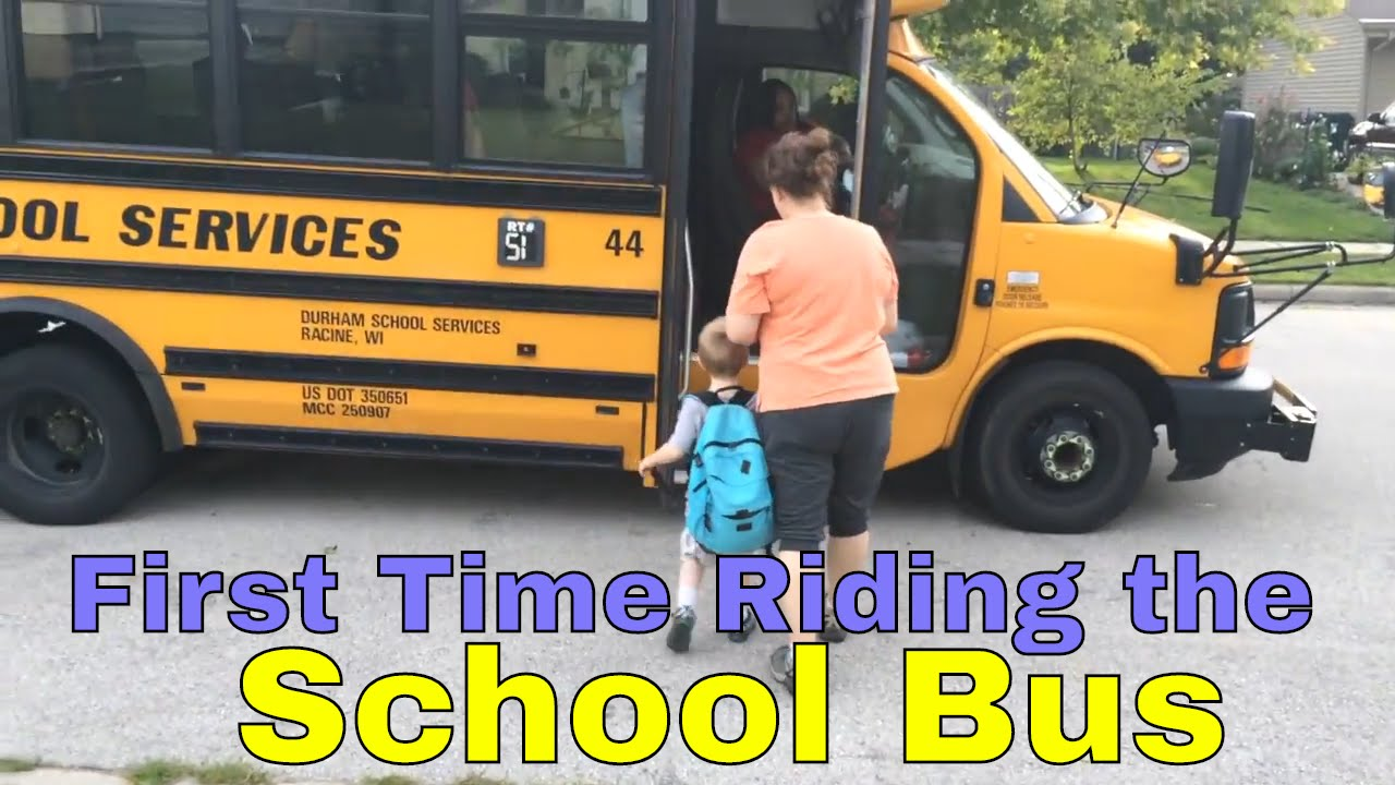 First Time Riding The School Bus - Youtube-4688