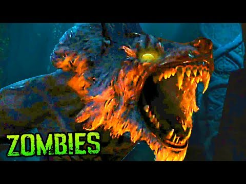 """""""DEAD OF THE NIGHT"""" BOSS FIGHT (FULL EASTER EGG ENDING & REACTION) BO4 ZOMBIES"""
