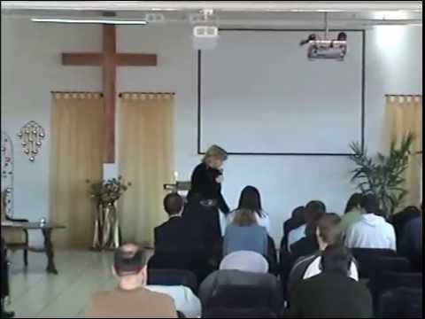 Agape Glaubensgemeinde 2008 Gottesdienst Gabi Schmöcker