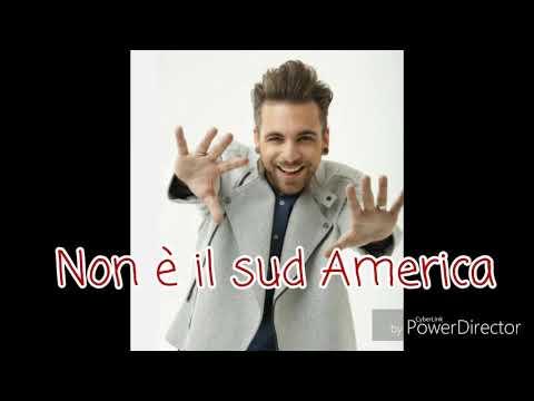 Alessio Bernabei - Non è il sud America