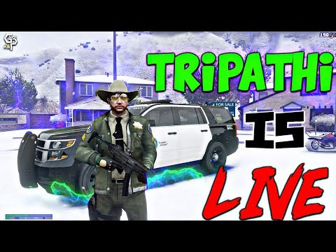 New Mic •Tripathi In City And Also Do Some Gang Things • GTAV Roleplay India  • Membership At @29