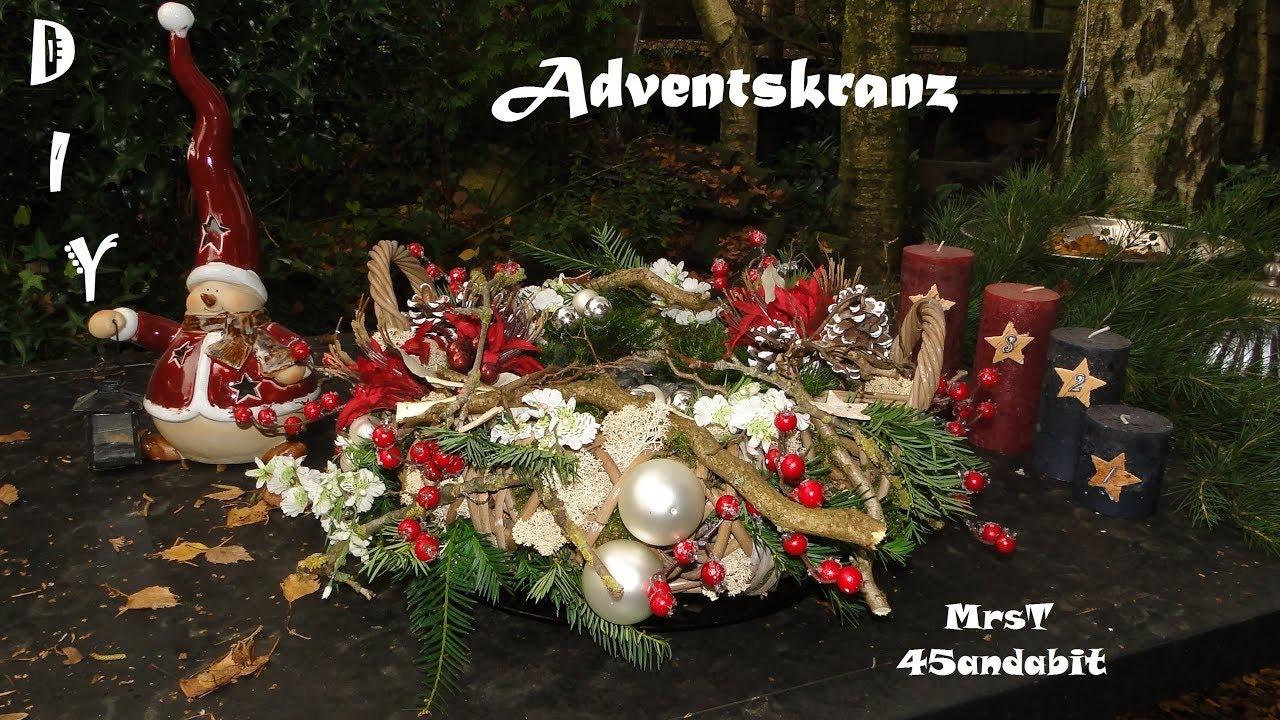 Nieuw DIY Weihnachtsdeko Adventskranz I kerstkrans Adventskrans I PP-76