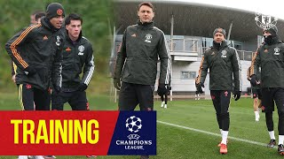 Training   United train ahead of Champions League match v Istanbul Basaksehir   Manchester United