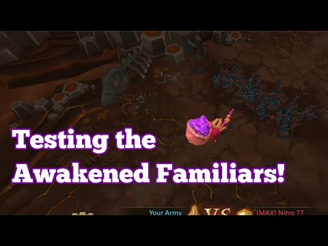 Lords Mobile - Testing An Awakened Familiar In Battle!