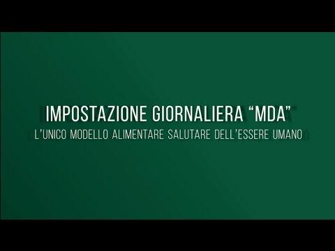 """Impostazione MDA: la corretta Alimentazione secondo """"Progetto 3M"""""""