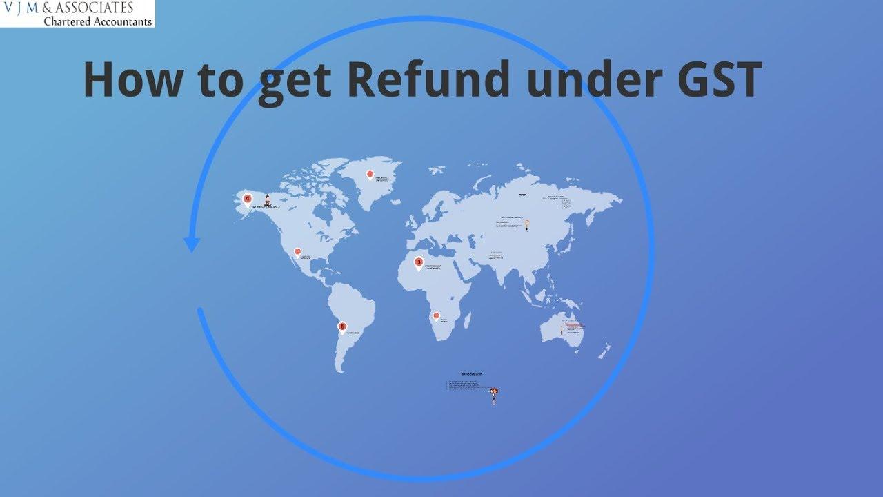 Refund to Exporters under GST | TaxGuru