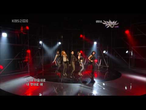 4Minute  Huh Hit Your Heart  20100521 Music Bank 1080p