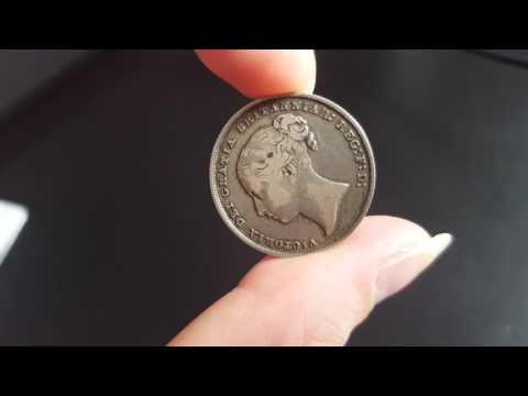 Great Britain Victoria Coin 1850 Shilling