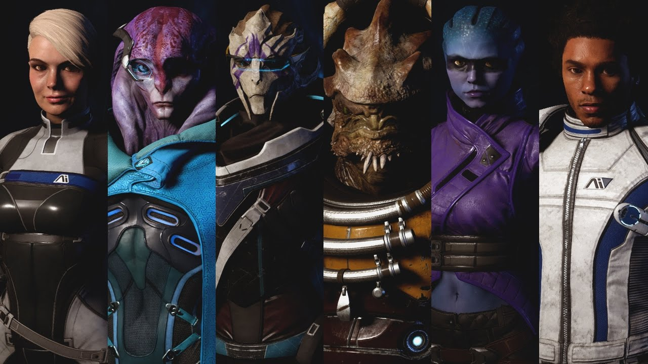 Image result for mass effect andromeda characters