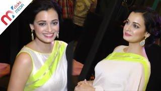 Dia Mirza Cute Look's In Saree || Celeb Zone