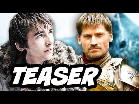 Game Of Thrones Season 6 HBO Teaser - Jaime Lannister and Bran Stark