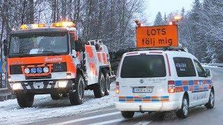 Heavy Recovery - Volvo FL10 6x6 vs. Tank Truck - Ramströms - Sweden 4K