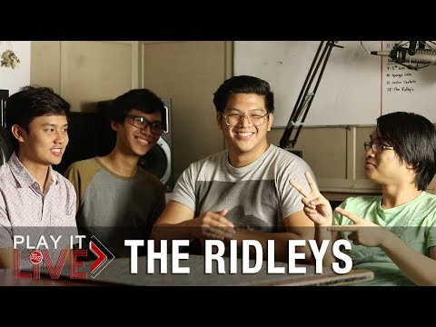 """THE RIDLEYS 