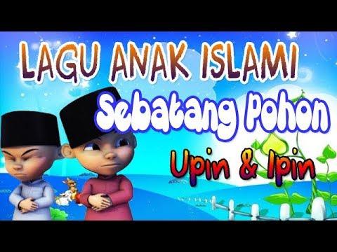 Lagu Anak Muslim Sebatang Pohon |Upin Ipin - Mari Bersholawat (Cover Ainun)