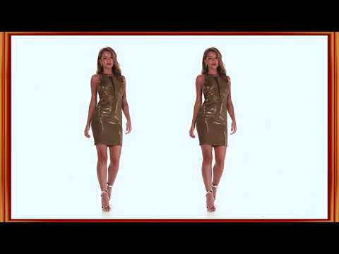 Gold and Silver Mini Dress || Relax 130 (HD)