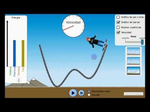 Energía Cinética Y Potencial Energía Mecánica Youtube