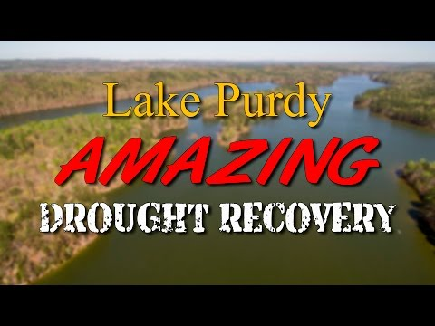 Lake Purdy - Amazing Drought Recovery