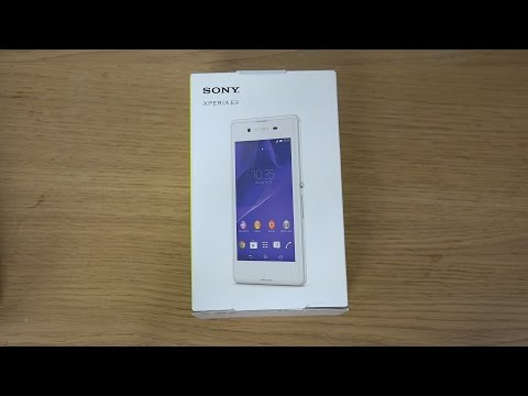 Sony Xperia E3 - Unboxing (4K)