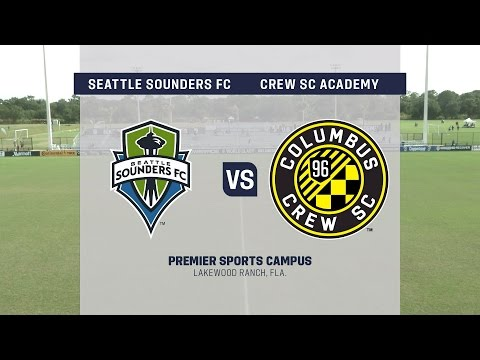 Development Academy Showcase: U-15/16 Seattle Sounders FC vs. Crew SC Academy