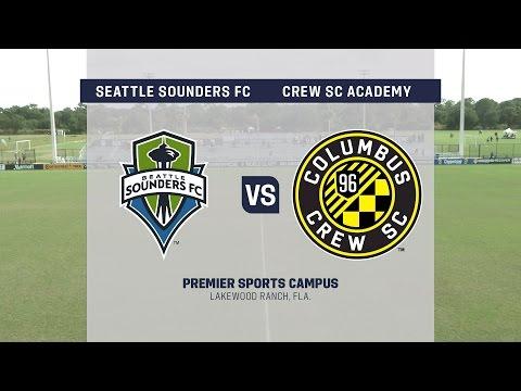 Live Video: Development Academy Showcase: U-15/16 Seattle Sounders FC vs. Crew SC Academy