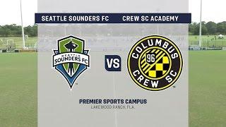 Development Academy Showcase: U-15/16 Seattle Sounders FC vs. Crew SC Academy