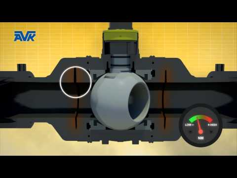PE Ball Valves animations (ALL)