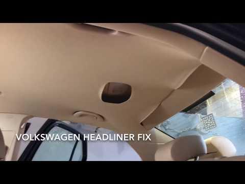 How to FIX the Volkswagen Headliners – Watch!