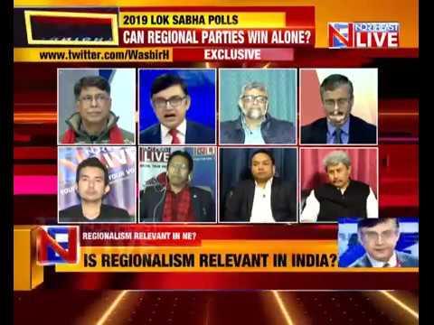 "The Big Debate | Regionalism Alive & Kicking | ""NORTHEAST TONIGHT"" with Wasbir Hussain"