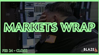 S&P Worst Day Since 2018 - Markets Wrap [Stock Market Review] Feb 24, 2020